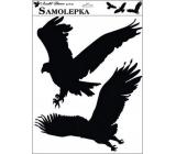 Samolepka siluety vtáky 42 x 30 cm č.4