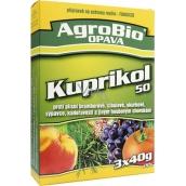 AgroBio Kuprikol 50 prípravok na ochranu rastlín proti hubovým chorobám 3 x 40 g