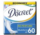 Discreet Air Multiform priedušné slipové intímne vložky pre každodenné použitie 60 kusov