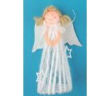 Anděl na postavení v sukni 20 cm č.1