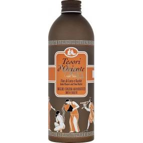 Tesoro d Oriente Lotus Flower & Acacia Milk kúpeľový krém 500 ml