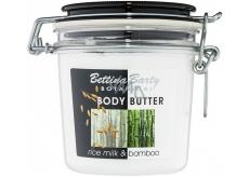 Bettina Barty Botanical Rice Milk & Bamboo tělový krém s rýžovým mlékem s vůní bambusu 400 ml