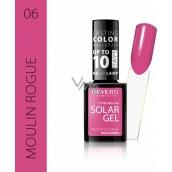 Reverz Solar Gél gélový lak na nechty 06 Moulin Rouge 12 ml