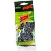 Clanax Drátěnka kovová nerez na nádobí 2 kusy, 15 g