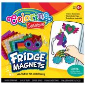 Colorino Urob si sám, sada magnetov s farebnými fóliami 10 farebných fólií + 4 rôzne magnety