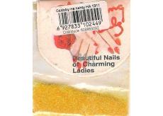 Professional Ozdoby na nechty prášok žltý HA 1311 2 g