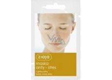 Ziaja Žlutý jíl antistresová pleťová maska pro všechny typy pleti 7 ml