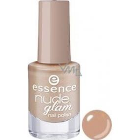 Essence Nude Glam Nail Polish lak na nechty 03 Cookies & Cream 5 ml