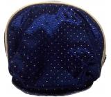 Etue Luxusná saténová modrá malá 13 x 12,5 x 2 cm 12/4273