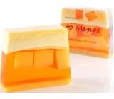 Bomb Cosmetics Dobré ráno mango - Go Mango Přírodní glycerinové mýdlo 100 g