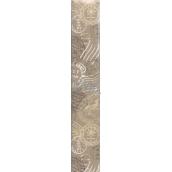 Nekupto Baliaci papier Klasik béžový s pečiatkami 70 x 150 cm