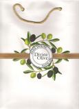 Jeanne en Provence Divine Olive Darčeková papierová taška strednej 24 x 30 cm