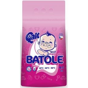 QALT Batoľa prací prášok na detskú bielizeň 35 dávok 4,5 kg