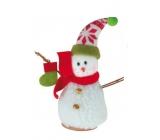 Snehuliak s papučou na postavenie 15 cm