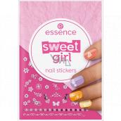 Essence Sweet Girl Nail Stickers nálepky na nechty 44 kusov