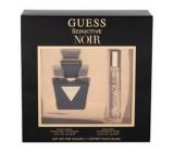 Guess Seductive Noir toaletná voda pre ženy 30 ml + toaletná voda 15 ml, darčeková sada