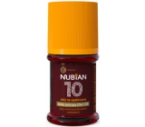 Nubian OF10 Olej na opaľovanie, nízka ochrana 60 ml