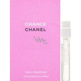 Chanel Chance Eau Fraiche toaletní voda pro ženy 2 ml s rozprašovačem, Vialka