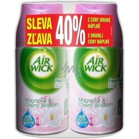 Air Wick FreshMatic Magnolie & Třešeň náhradní náplň 2 x 250 ml