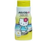 Hello Kitty s minerály z Mrtvého moře pěna do koupele pro děti 250 ml