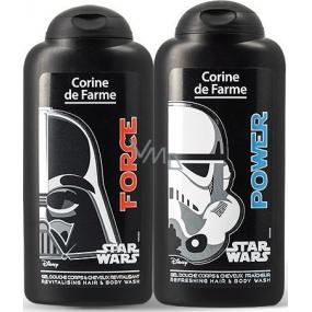 Corine de Farmu Star Wars 2v1 šampón na vlasy a sprchový gél pre deti 250 ml