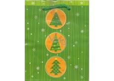 Albi Dárková papírová malá taška 13,5 x 11 x 6 cm Vánoční TS3 97760