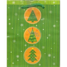 Albi Darčeková papierová malá taška 13,5 x 11 x 6 cm Vianočné TS3 97760