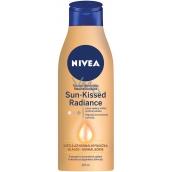 Nivea Sun Kissed Radiance tónovacie telové mlieko pre svetlú až normálnu pokožku 400 ml