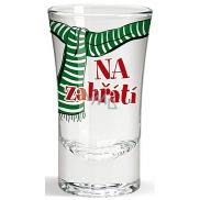 Nekupto Zimné panák sklenený Na zahriatie 40 ml