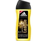 Adidas Victory League 2v1 sprchový gél na telo a vlasy pre mužov 250 ml