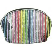 Etue Priehľadná - farebný prúžok 13 x 10 x 1,5 cm 1 kus 70100
