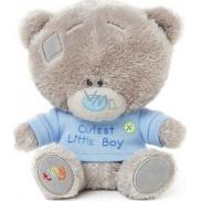 Me to You Tiny Tatty Teddy Medvedík v modrom tričku 11,5 cm