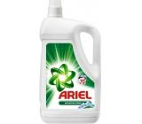 Ariel Mountain Spring tekutý prací gel pro čisté a voňavé prádlo bez skvrn 70 dávek 4,55 l