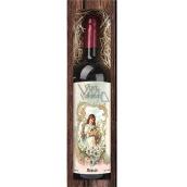 Bohemia Gifts & Cosmetics Merlot červené Veselá Veľká noc darčekové víno 750 ml