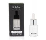 Millefiori Natural White Mint & Tonka - Bílá máta a tonkové boby Aroma olej 15 ml