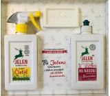 Jelen Startovací sada pro domácnost Jelen na nádobí s výtažky z brusinek 0,5 l + Octový čistič 0,5 l + Jádrové mýdlo 200 g, dárková sada