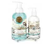 Michel Design Works Vtáčí raj peniace tekuté mydlo na ruky 530 ml + mlieko na ruky a telo 236 ml, kozmetická sada