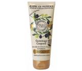 Jeanne en Provence Divine Olive vyživujúce sprchový peelingový gél 200 ml