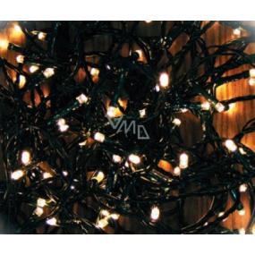 Emos Osvetlenie vianočné teplá biela 240 LED 24 m + 5 m prívodný kábel