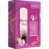 Impulse True Love deodorant spray 75 ml + toaletní voda 30 ml, dárková sada