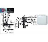 Room Decor samolepka k vypínaču drôty 24 x 15 cm 1 kus