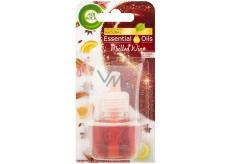 Air Wick Essential Oils Mulled Wine - Svařené víno elektrický osvěžovač náhradní náplň 19 ml