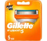 Gillette Fusion5 náhradné hlavice 5 kusov