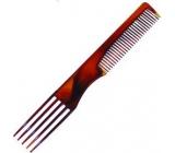 Paves Anti Static hrebeň s vidličkou rôzne farby 19,5 cm MRP