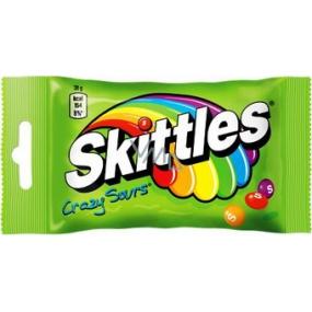 Skittles Crazy Sours kyslé žuvacie cukríky 125 g