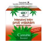 Bion Cosmetics Cannabis s peptidovým komplexom Intenzívny krém proti vráskam 51 ml
