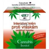 Bione Cosmetics Bio Cannabis s peptidovým komplexem Intenzivní krém proti vráskám 51 ml