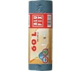 Alufix Uni Sáčky do odpadkového koša zaťahovacej modré 60 litrov, 64 x 70 cm, 15 kusov