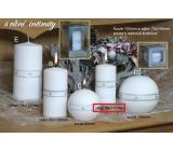 Lima Aura Intimity vonná svíčka bílá válec 50 x 100 mm 1 kus
