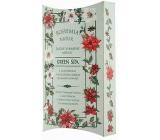 Bohemia Gifts & Cosmetics Green Spa s glycerínom a kvalitným olejom zo semien konope ručne vyrábané toaletné mydlo v papierovej krabičke 100 g